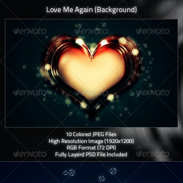 Love Me Again (Background Design)