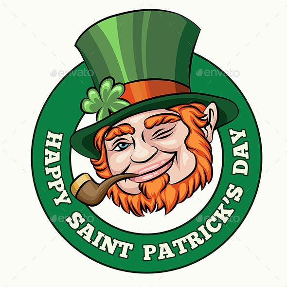 Saint Patrick's Day Badge