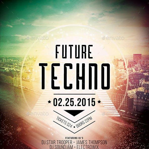 Future Techno Flyer