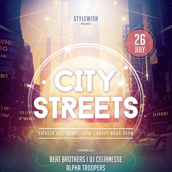 City Streets Flyer