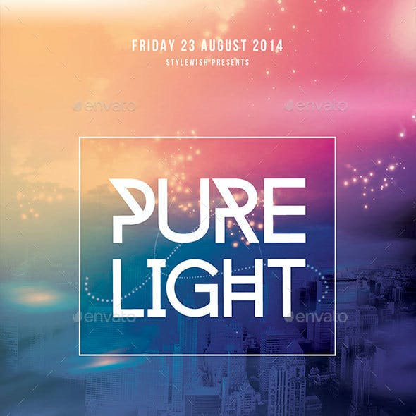 Pure Light Flyer