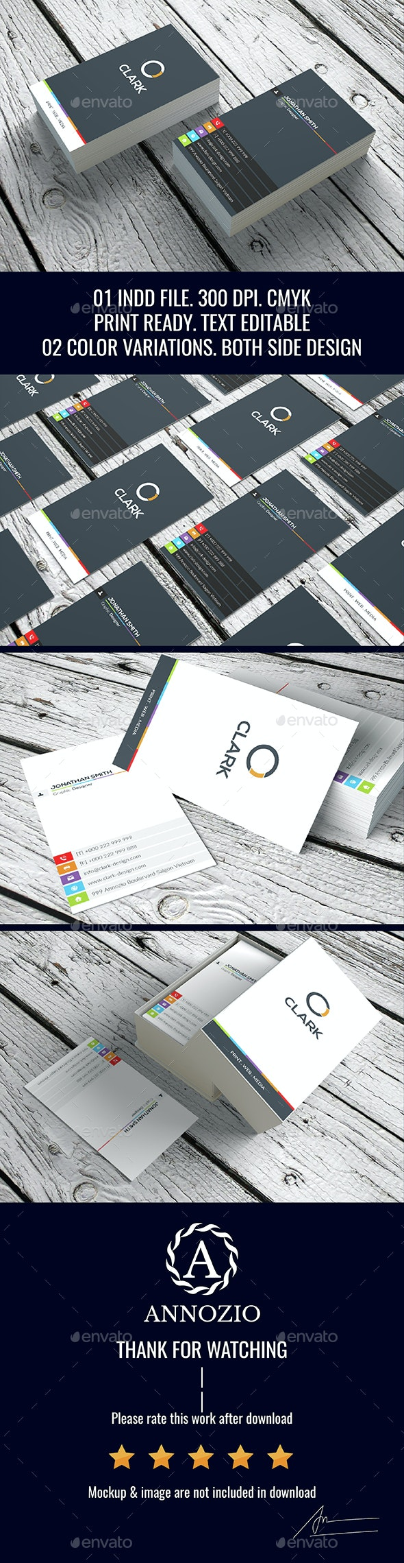 Modern Creative BC InDesign 0004 - Creative Business Cards