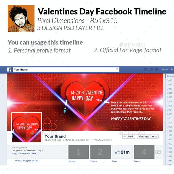 Valentines Facebook Timeline Cover