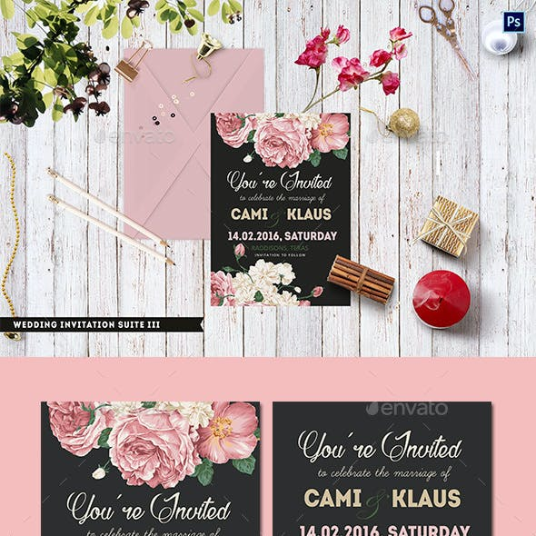 Wedding Invitation Suite III