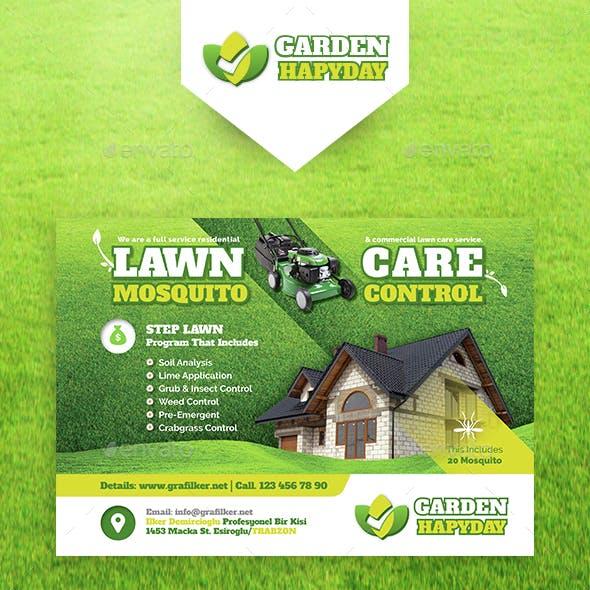 Garden Landscape Flyer Templates