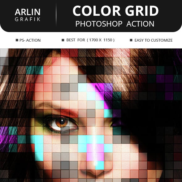 Color Grid Action