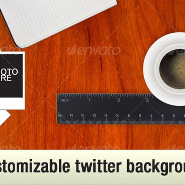 Coffee Table Twitter Background