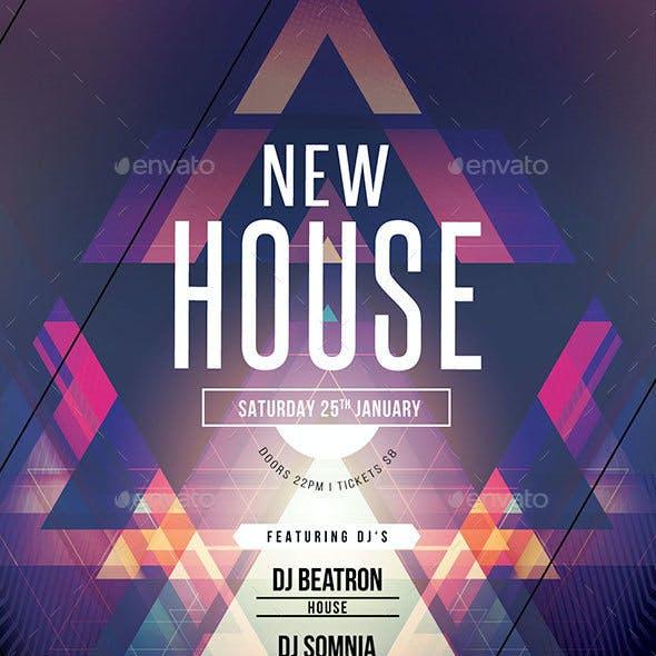 New House Flyer