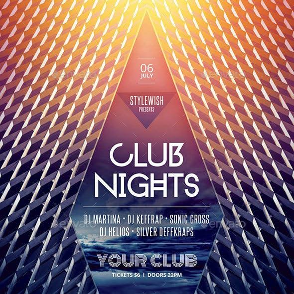 Club Nights Flyer