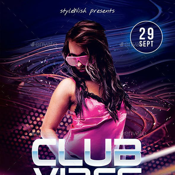 Club Vibes Flyer
