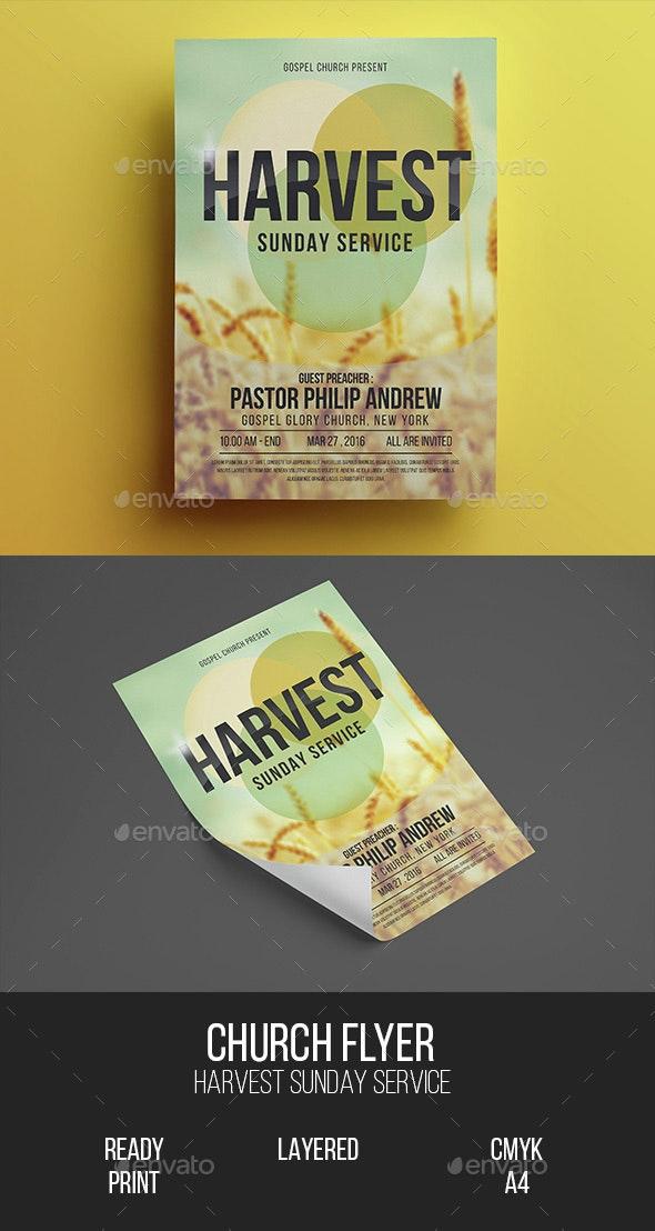 Church Gospel Flyer - Church Flyers