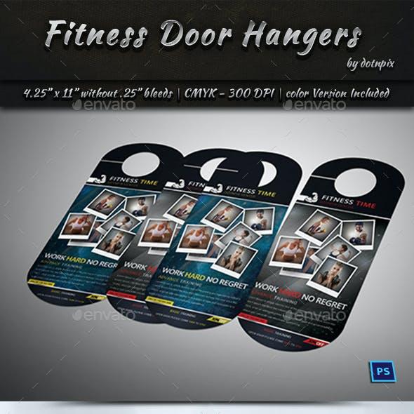 Fitness Door Hangers