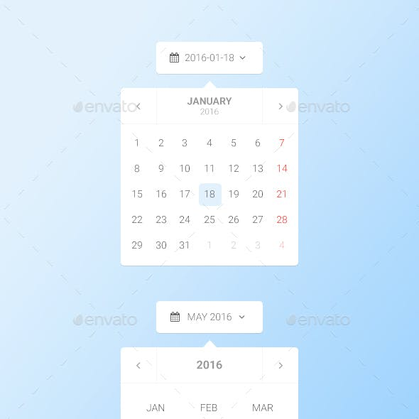 Datepicker Calendar