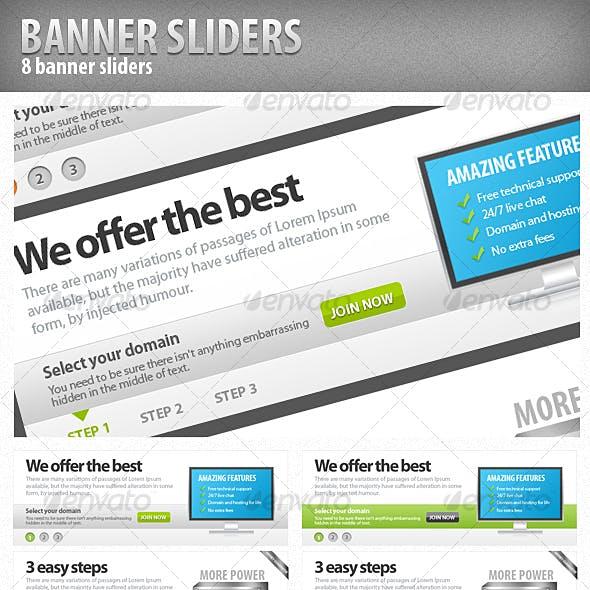 Clean Banner Sliders