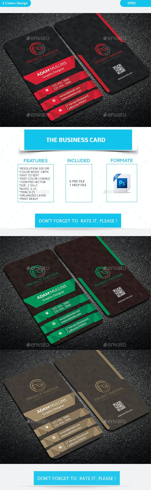The Business Card - Business Cards Print Templates