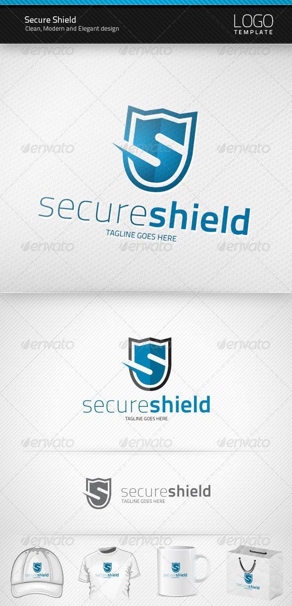 Secure Shield Logo - Letters Logo Templates