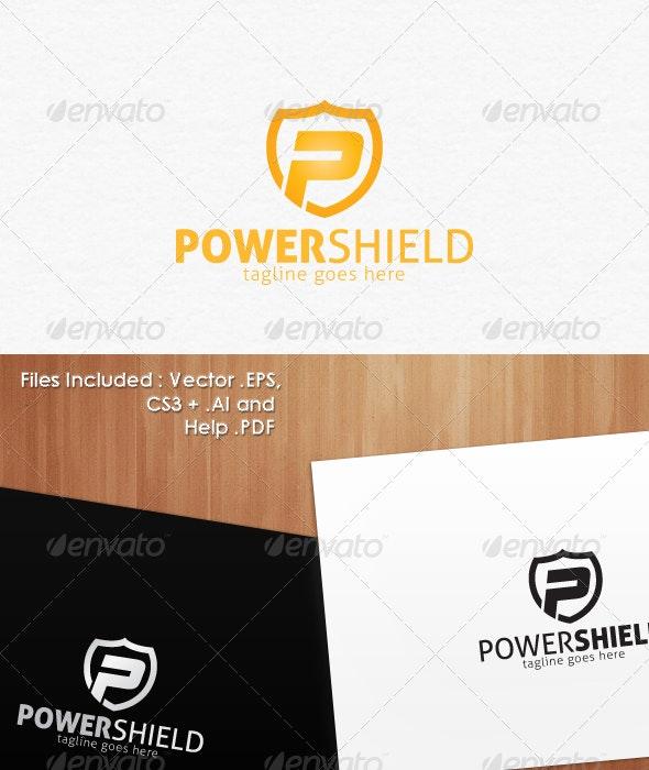 Power Shield Secure Logo Design