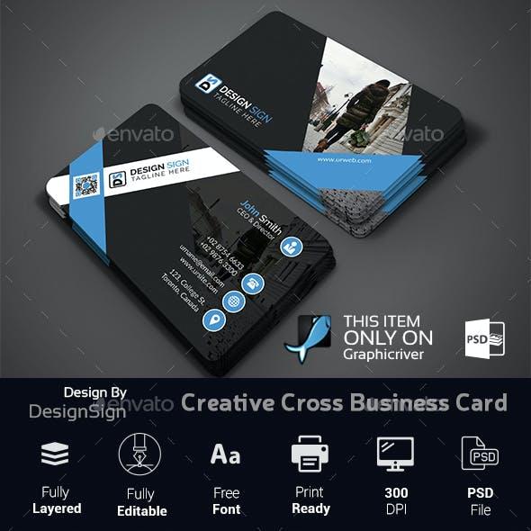 Creative Cross Business Card