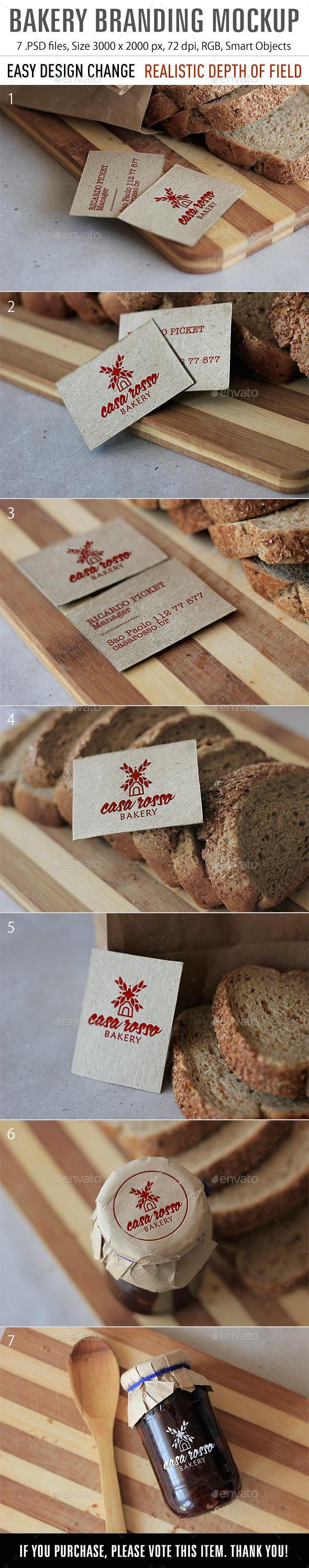 Bakery Mockup - Product Mock-Ups Graphics