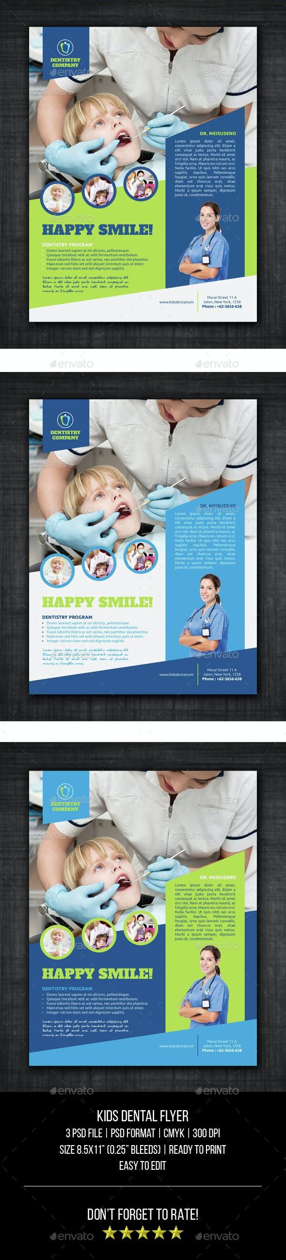 Kids Dental Flyer - Corporate Flyers