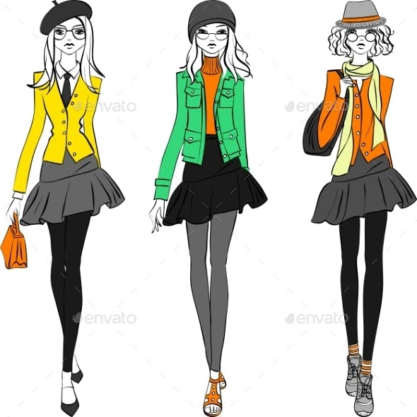 Fashion Girls Top Models