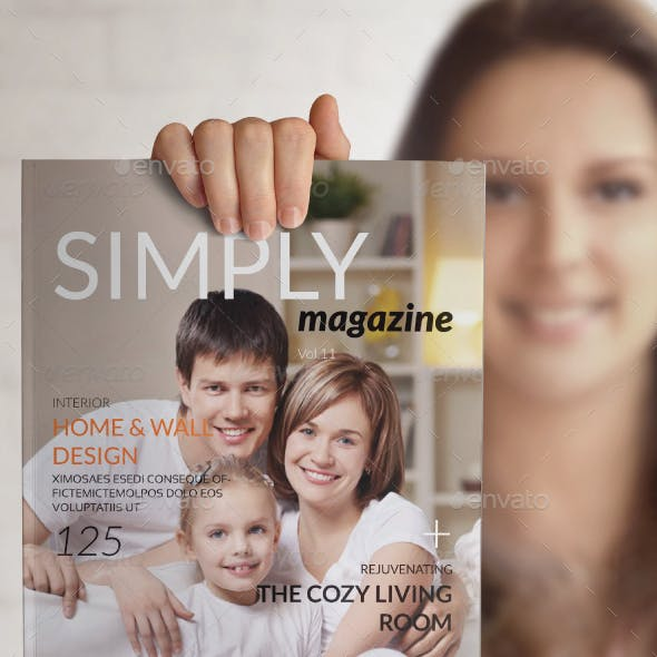 Simply Magazine Template