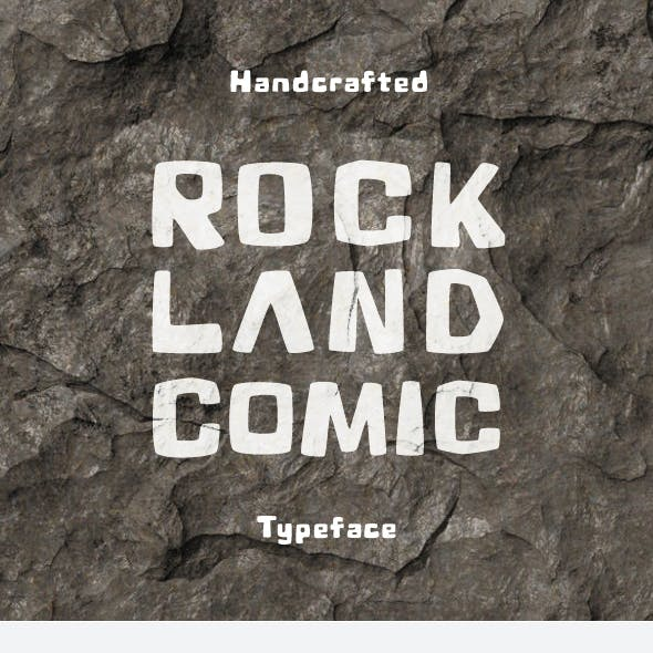 Rock Land Comic Font