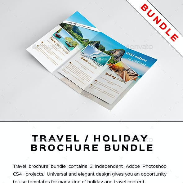 Travel / Holiday Brochure Bundle