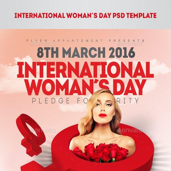 International Womans Day Flyer