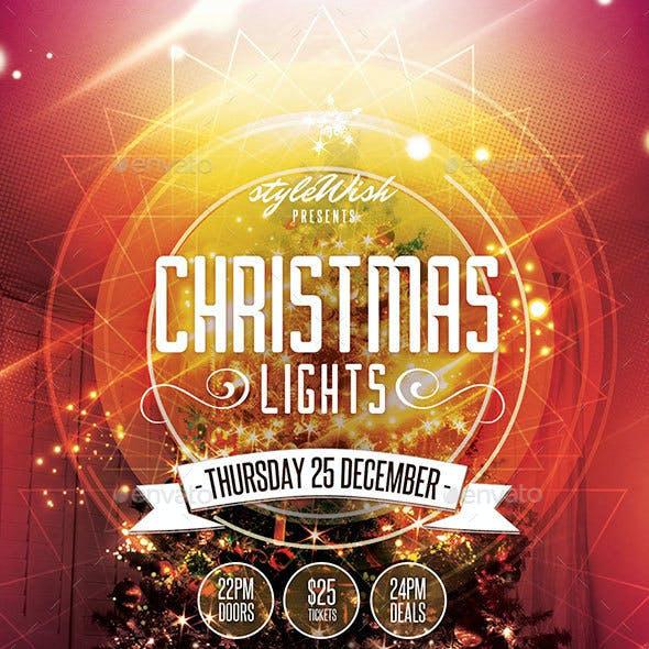 Christmas Lights Flyer