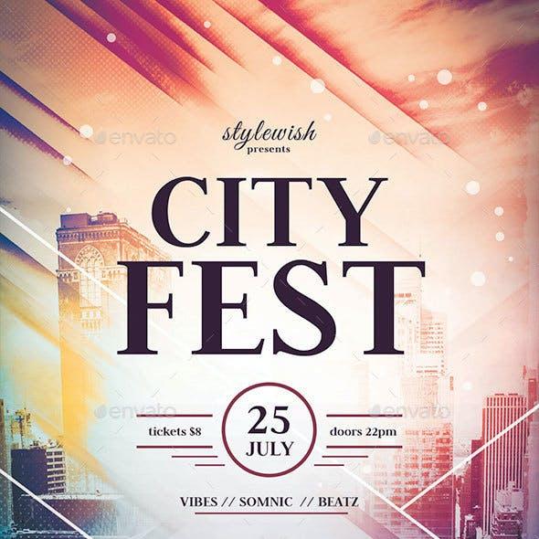 City Fest Flyer