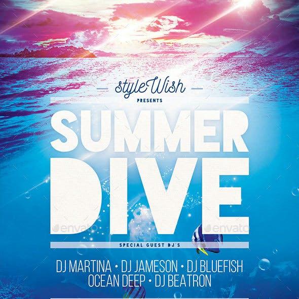 Summer Dive Flyer