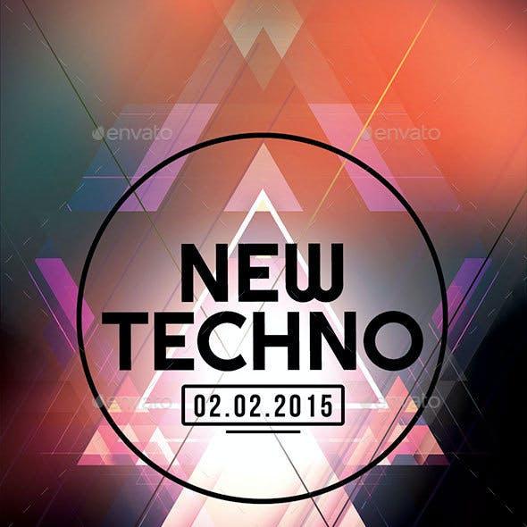 New Techno Flyer