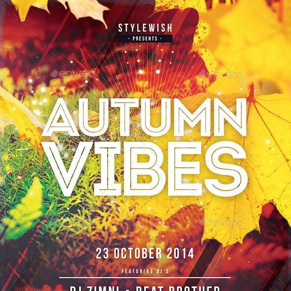 Autumn Vibes Flyer