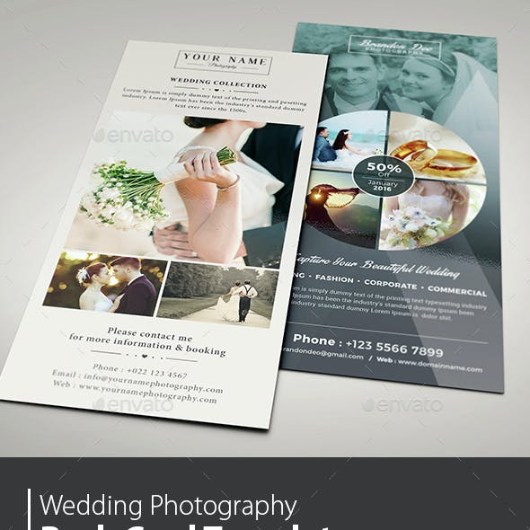 Wedding Photography Rack Card