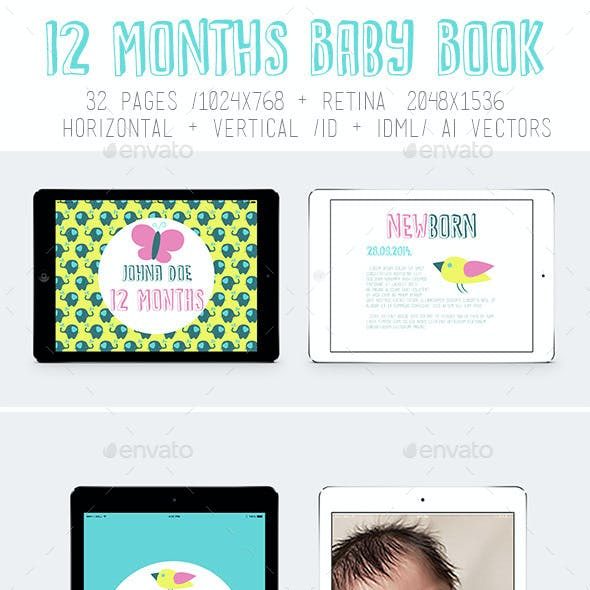 Ipad&Tablet 12 Months Baby Book