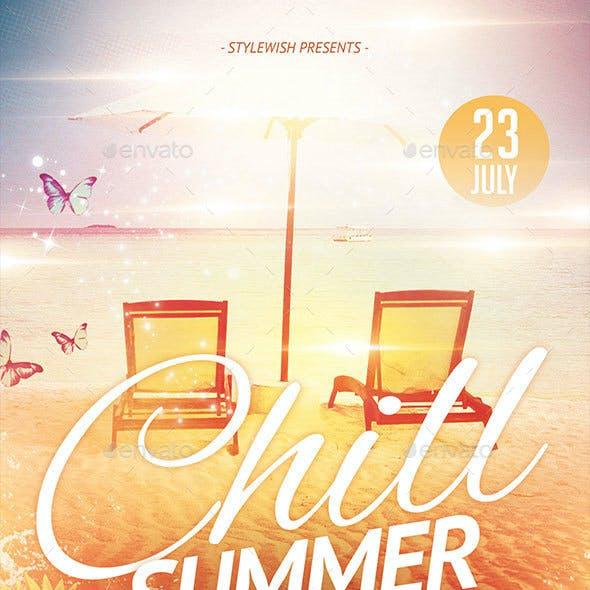 Chill Summer Flyer