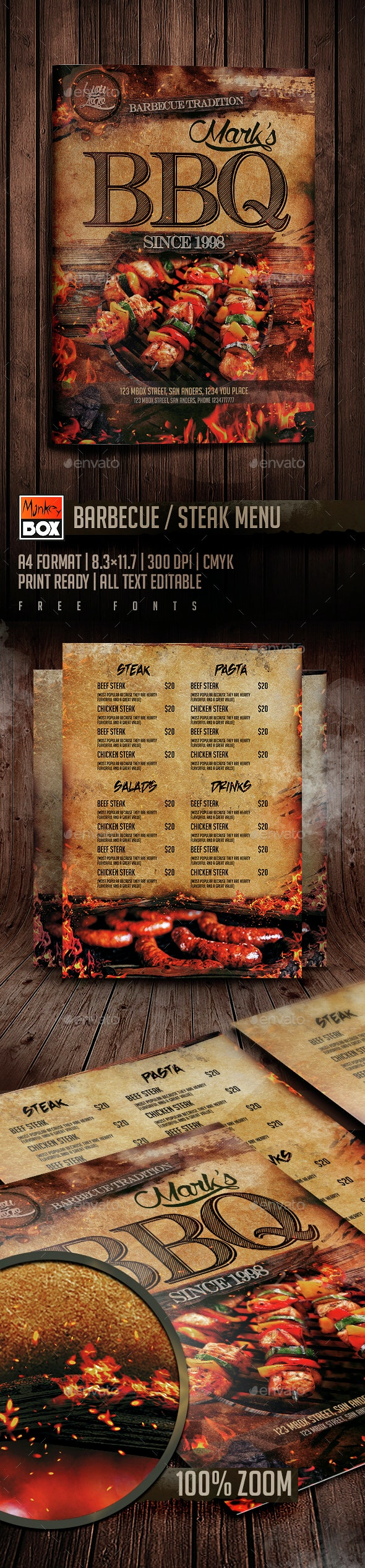 Cardápio Bife do BBQ