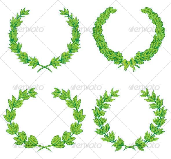 Wreaths - Decorative Symbols Decorative