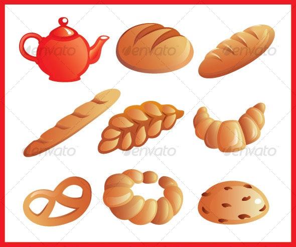 Baking - Food Objects