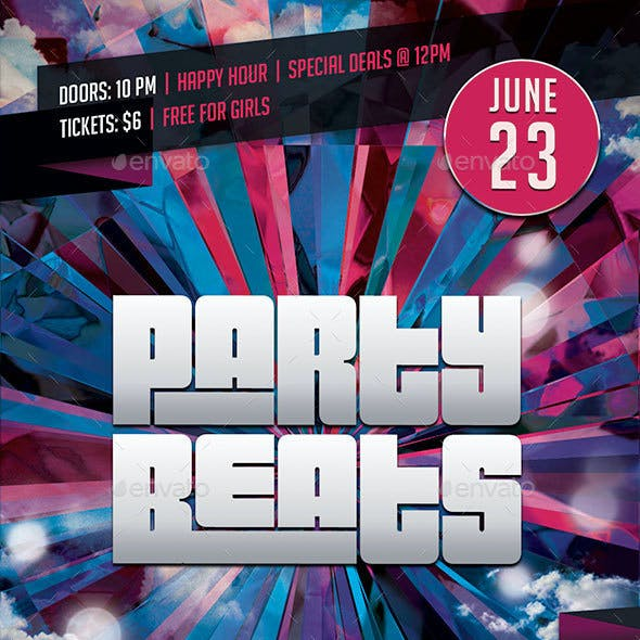 Party Beats Flyer