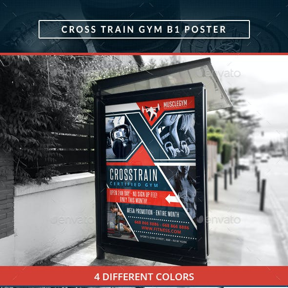 Cross Training Gym B1 Poster