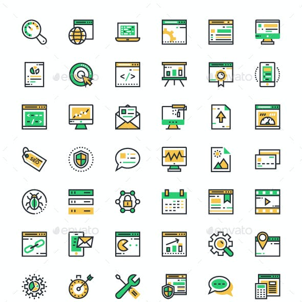 150+ SEO and Marketing Icons