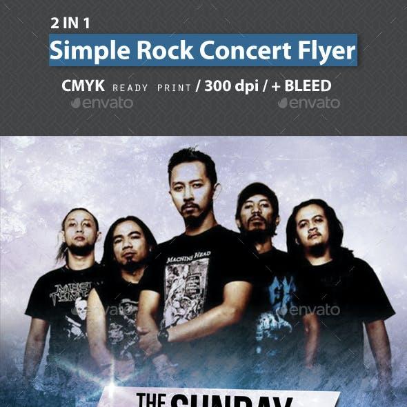 Rock Concert Flyer Bundle