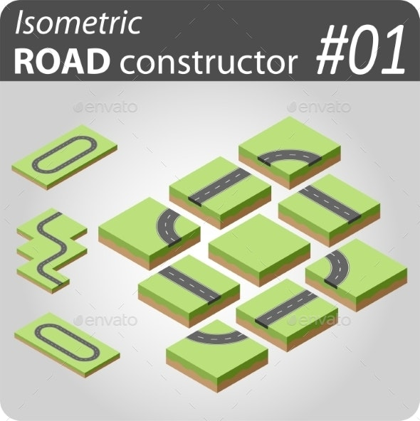 Isometric Road Constructor - 01