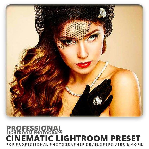 Cinematic Lightroom Preset