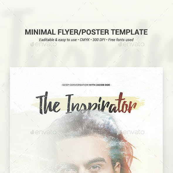 Minimal Flyer/Poster Template