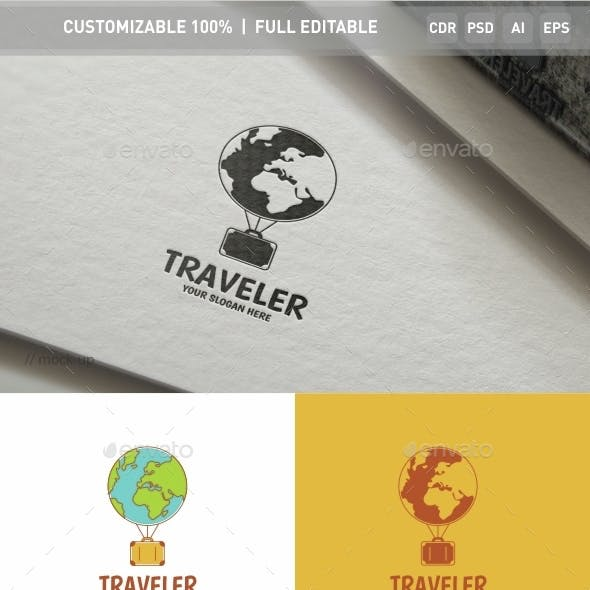 Traveler Logo Template