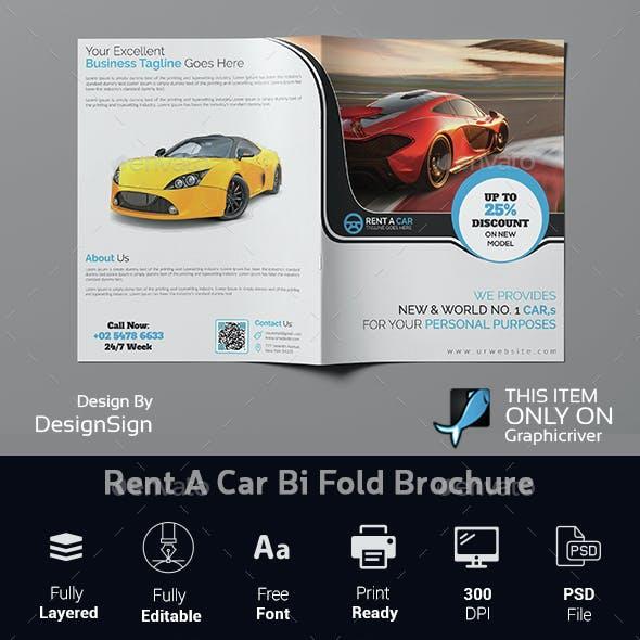 Rent A Car Bi Fold Brochure
