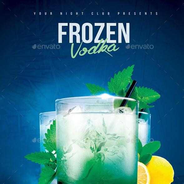 Frozen Vodka Drink